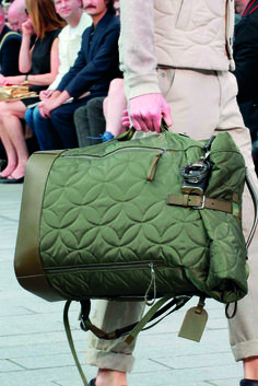 Quilted adventurer backpack - Louis Vuiton SS12 - Inspiration for our FW 17-18 Menswear trendbook