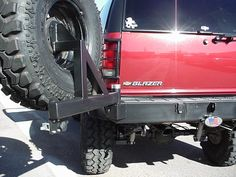 s10 blazer rear bumper tire carrier - Google Search