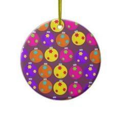 Christmas Bauble Wallpaper Ornaments