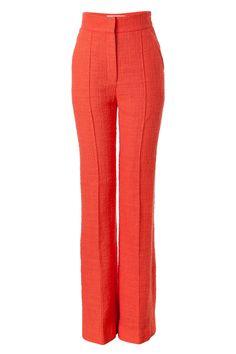 cfc7b8c0f546 ROKSANDA ILINCIC Coral Cotton-Blend Marcel Pants