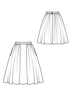Skirt Pattern:http://www.burdastyle.com/pattern_store/patterns/tweed-circle-skirt-102010