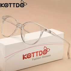 bf577843b3 US $1.73 58% OFF|KOTTDO Fashion Transparent Glasses Optical Glasses Frames  For Women Cat Eye Glasses Frame Men Eyeglasses Eyewear Frame Oculos-in  Men's ...