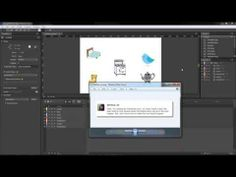 Adobe Edge Animate CC Lesson #11 - Create An Interactive Game and Show a Button at the end - YouTube