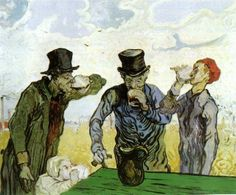 Vincent van Gogh, die (Absinth)trinker, 1890, Art Institute of Chicago