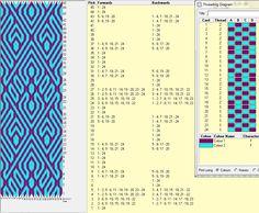 Diseño 24 tarjetas, 2 colores, repite dibujo cada 22 movimientos