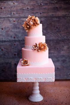romantica tortas para 15 años