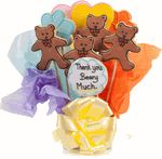Cookie Bouquets to Say Thanks Beary Much  Order this delightful delivery of dancing bears thank you cookies