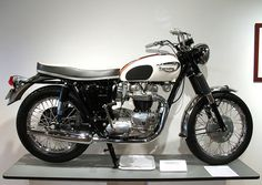 1966 Triumph Bonneville, via Flickr.