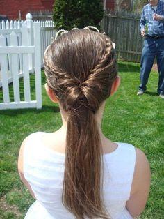 1st Communion Hair-Do