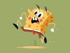 James Boorman: SpongeBob for @Sketch_Dailies #spongebob