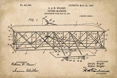 Keep Calm Collection - Wright Brothers Airplane Patent Art Poster Print (http://www.keepcalmcollection.com/wright-brothers-airplane-patent-art-poster-print/)