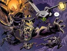 The Wolf Corps of Astounding Wolf-Man