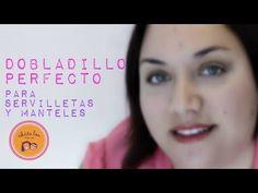 Cómo hacer el dobladillo perfecto para servilletas y manteles - YouTube