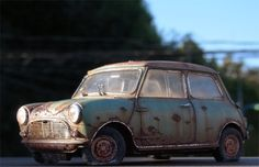 Rusted Mini 1/35 Scale Model