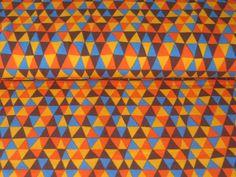 Organic Jersey Retro colourfull Rhombus Lillestoff de Retro-Stoff-Cafe por DaWanda.com