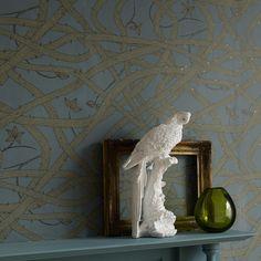 Image of Brambleweb wallpaper- Dusk