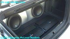 Audi-s4-custom-fiberglass-subwoofer-box-amplifier-stereo-