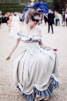 A Carnivale, at Versailles? Are you freaking kidding me? How awesome!