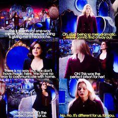 """Emma and  Regina - 6 * 8 """"I'll be your mirror"""""""
