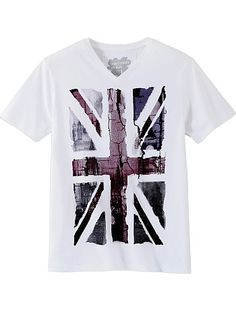Tee-shirt print 'drapeau' pour Kiabi Homme, printemps été 2013