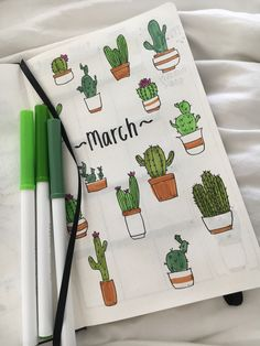 march cover page spread