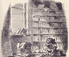 illustration by Edward Ardizzone for Eleanor Farjeon's The little Book Room
