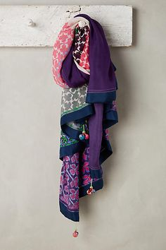 Anjali Silk Scarf - anthropologie.com Navy Shawl, Navy Blue Scarf, Navy  Scarves 662ab52d21a