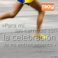 Las carreras son la celebración del entrenamiento #correr #SoyMaratonista