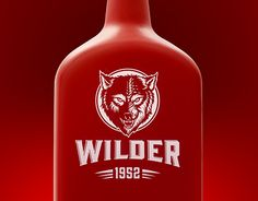 "Check out new work on my @Behance portfolio: ""WILDER Logo & design bottle"" http://be.net/gallery/53439805/WILDER-Logo-design-bottle"