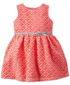 Carter's Baby Girls' Pink Lace Dress