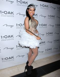 Nicki Minaj wearing