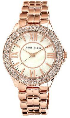 Anne Klein Crystal Bezel Bracelet Watch, 38mm  $95.00 $56.98