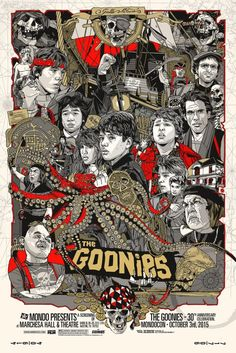 MONDOCON 2015: At Long Last, Tyler Stout Does THE GOONIES   Birth.Movies.Death.