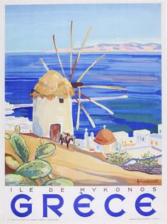 Grece. Ile de Mykonos, Λινάκης Κώστας, 1949