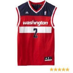 Amazon.com   NBA Washington Wizards John Wall Road Replica Jersey Red 88f938f0d