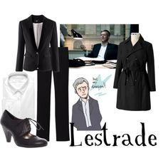 """Lestrade for women"" by companionclothes on Polyvore"