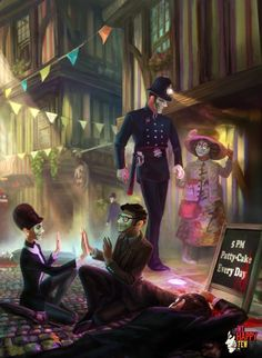 I want to play this sooooo badly! It's seriously like Brave New World (one of my favorite books) mixed with Bioshock (one of my favorite video games)! I love the dystopian vibe && the storyline! We Happy Few We Happy Few Game, Pretending To Be Happy, Uncle Jack, Bioshock, Borderlands, Cs Go, Retro, Videogames, Concept Art