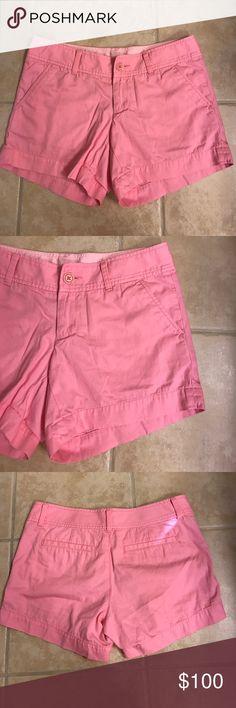 Size 2 Lilly Pulitzer Callahan pink shorts Size 2 Lilly Pulitzer Callahan pink shorts Lilly Pulitzer Shorts