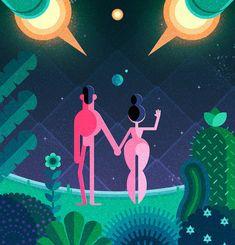 Creative Illustrations by Robin Davey – Fubiz™