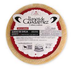 ueso-de-oveja-leche-pasterizada-llanos-de-guadalmez- Queso, Label, Pie, Chart, Cheese, Raw Milk, Sheep, Torte, Cake