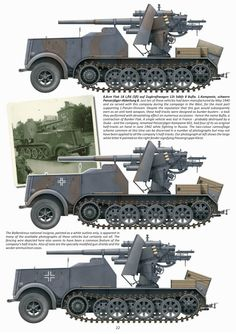 8,8сm Flak 18L/56 (sfI)auf Zugraftwagen. German Soldiers Ww2, German Army, Army Vehicles, Armored Vehicles, Military Drawings, Camouflage Colors, War Thunder, Military Armor, Military Modelling