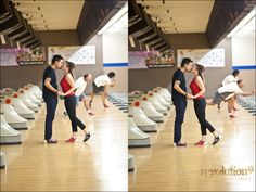 I want to be proposed to in a bowling alley.