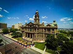 Tarrant County Courthouse, Fort Worth Texas 1893