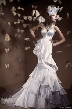 Elihav Sasson haute couture bridal 2011 collection wedding dress