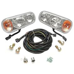 Buyers Products 1311100 Buyers Universal Halogen Snowplow Light Kit >  Assembly: Unassembled. Mount Type: Double-Post. Type: H1 and H7 Halogen Bulbs. Voltage: 12.  ... Check more at http://farmgardensuperstore.com/product/buyers-products-1311100-buyers-universal-halogen-snowplow-light-kit/