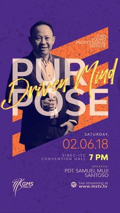 Purpose Driven Mind ProM by Danzjabrix on Inspirationde Poster Design Layout, Event Poster Design, Event Posters, Graphic Design Posters, Web Layout, Collage Poster, Poster S, Church Graphic Design, Church Design