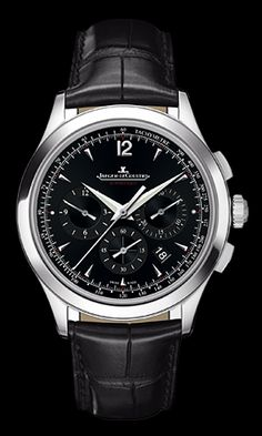 Jeager Le Coultre Master Chronograph Automatic Stainless Steel  Available at Cellini Jewelers