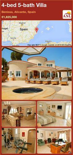 4-bed 5-bath Villa in Benissa, Alicante, Spain ►€1,825,000 #PropertyForSaleInSpain