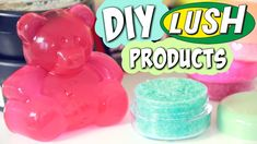 make diy lush products for so much less and you might already have the ingredients