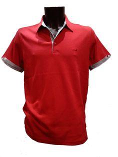 9cb1550b8b28 acheter un Polo-homme-Stil-Park à manches-courtes rouge